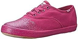 Keds Champion CVO Seasonal Sneaker (Little Kid/Big Kid), Pink Dip Toe, 3 M US Little Kid