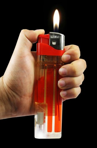 Giant 6 1/2 Inch Disposable Lighter#109