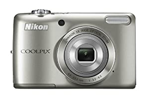 Nikon COOLPIX L26 16.1 MP Digital Camera with 5x Zoom NIKKOR Glass Lens and 3-inch LCD (Silver)