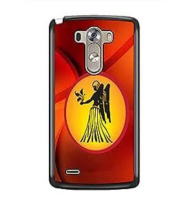PrintDhaba Zodiac Virgo D-3378 Back Case Cover for LG G3 (Multi-Coloured)