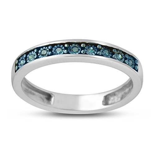 005-CTTW-Sterling-Silver-Blue-Diamond-with-illusion-plate-band