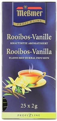 Meßmer ProfiLine Rooibos-Vanille 25 x 2 g, 3er Pack (3 x 50 g) von Meßmer ProfiLine - Gewürze Shop