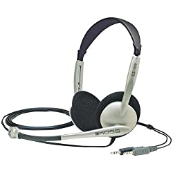 Cs-100 Stereo Pc Headset With Noise Canceling Microphone Includes 8' Cord