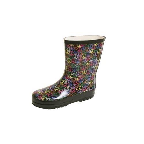 Rain boots in rain