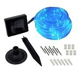 Flipo Solar 50 LED Rope Light, Blue