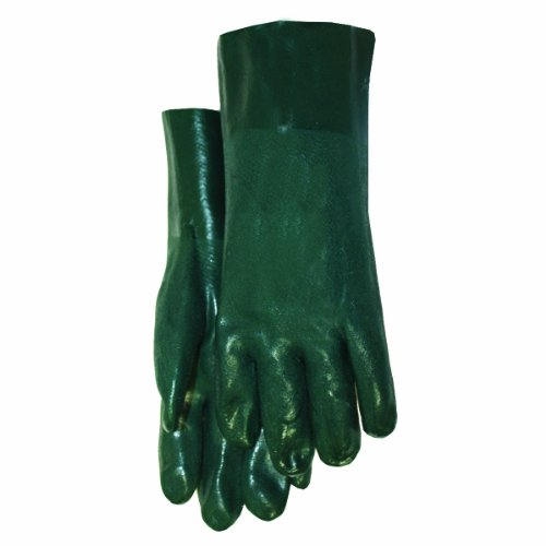 Midwest Gloves and Gear 4412T-M-AZ-6 PVC Coated Glove, Medium