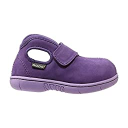 Bogs Infants/Toddlers Baby Mid Nubuck,Purple,US 4 M