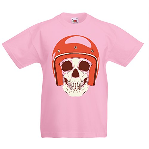 funny-t-shirts-for-kids-moto-skull-9-11-years-pink-multi-color