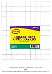 Student Grid Double Sided Dry Erase