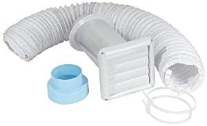 Imperial Manufacturing VT0155 3-Inch / 4-Inch Bath Fan Wall Vent Kit