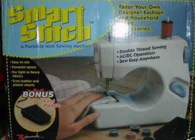 Smart Stitch - A Portable Mini Sewing Machine
