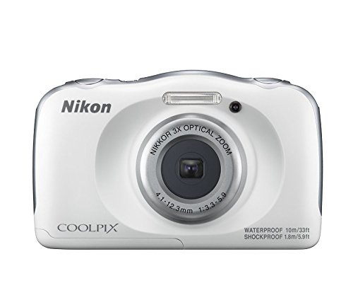 Nikon-Coolpix-W100-132-MP-Point-and-Shoot-Digital-Camera-White-with-3x-Optical-Zoom-8GB-Memory-Card-and-Camera-Case