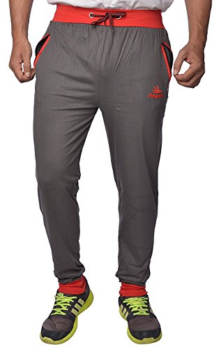 Finger's brings us pure cotton track pants which can be worn at the gym while working out as well as casually outdoors. Below I have listed down pros of it:-  . Its made from 100% cotton making it highly comfortable to wear. . The stitching quality is good thus adding a durability quotient to it.  . The colour doesn't fade away with repeated washings. . Comes in bright eye catching colour combinations.  If you want a pair of cotton track pants that you can put to rough use, at a cheap price, then this track pant would be recommended from my part.