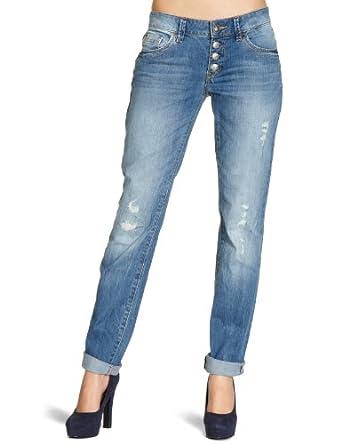 ESPRIT Damen Jeans W2C076, Gr. 29/32, Blau (light destroy 916)