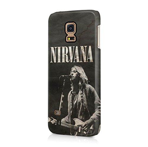 Nirvana Kurt Cobain Samsung Galaxy S5 MINI Hard Plastic Case Cover