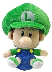 Plüschfigur Baby Luigi 13cm [Import allemand]