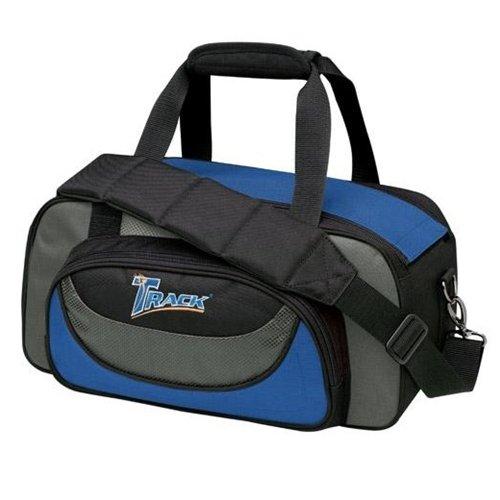 Track Premium 2 Ball Tote Bowling Bag- Blue/Grey