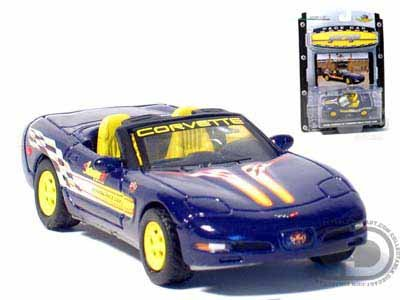 Sale alerts for Chevrolet 1998 Chevy Corvette Convertible Indy 500 Pace Car 1/64 - Covvet