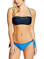 Effek Bikini (Azul / Negro)