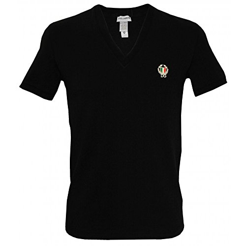 dolce-gabbana-deporte-cresta-profundo-con-cuello-en-v-camiseta-de-los-hombres-negro-medium