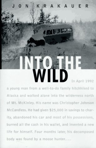 minimizing authorial presence in into the wild a book by jon krakauer