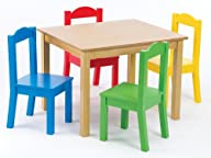 Tot Tutors Kids' Table and 4-Chair Se…