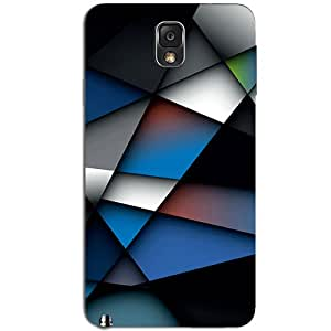 ABSTRACT BLUE BACK COVER FOR SAMSUNG GALAXY NOTE 3