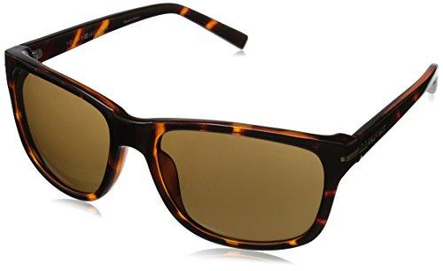 Tommy Hilfiger Men'S Ths 122 Rectangular Sunglasses, Tortoise, 56 Mm