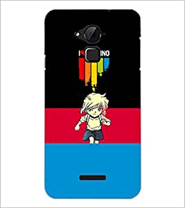 PrintDhaba Quote D-3503 Back Case Cover for COOLPAD NOTE 3 LITE (Multi-Coloured)