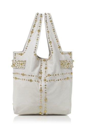 Sara Berman Womens Jivvy Stud Bag Ivory