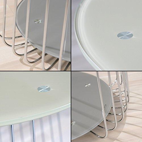 couchtisch glas mit ablage com forafrica. Black Bedroom Furniture Sets. Home Design Ideas