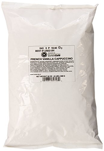 zurich-cafac-french-vanilla-cappuccino-2-pound-pack-of-6-by-zurich-cafac