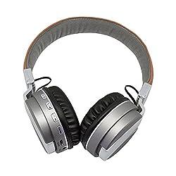 Bluetooth Stereo Headphones With Microphone TF Card Micro SD FM Radio On Ear Headphones Handsfree Bluetooth Headphones FREE CARD READER