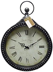 Wilco Imports Metal Round Pocket Watch Design