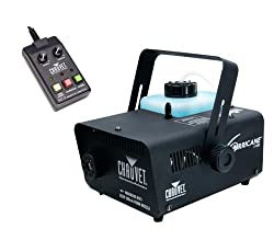Chauvet H1100 Hurricane Pro DJ Fog & Smoke Machine + FC-T Wired Remote Timer