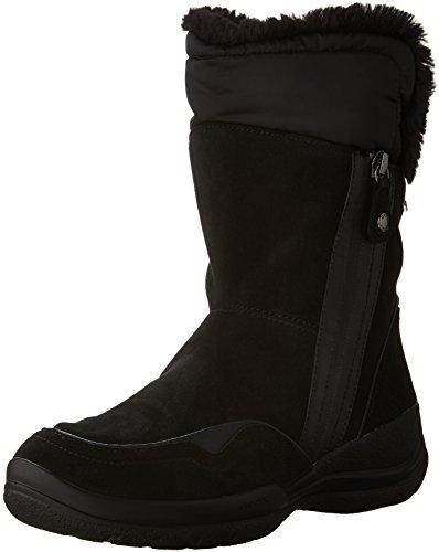 Geox D Hellin B Abx C, Stivali da Neve Donna, Nero (BLACKC9999), 37 EU
