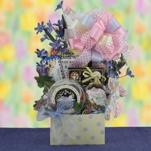Posh Party Pooch Dog EASTER Gift Basket