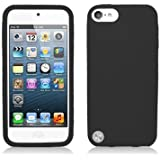 For Apple iPod Touch 5 (5th Generation) Silicone Skin Case, Black