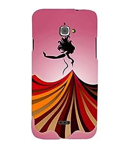 Dance Baby Dance 3D Hard Polycarbonate Designer Back Case Cover for InFocus M350