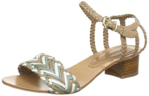 Lottusse Womens S7433 Sandals Green Grün (olive green) Size: 4.5 (37.5 EU)