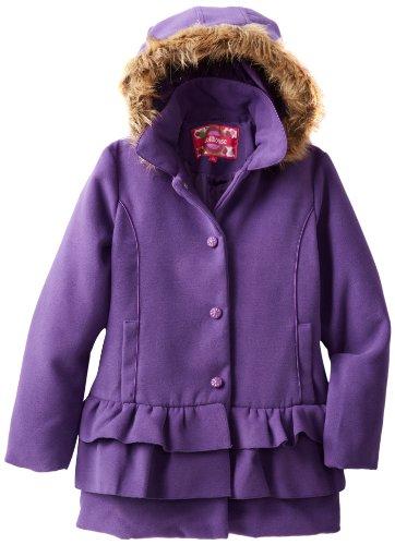 Dollhouse Girls Hoodie Coat - Color (Purple) at Sears.com