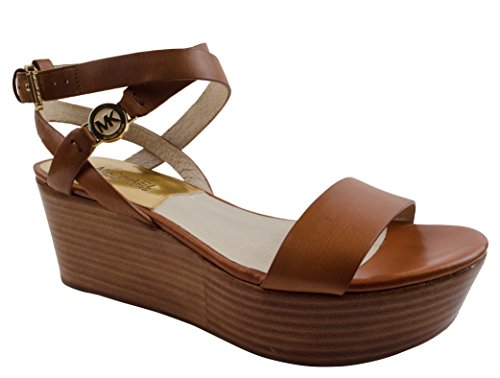 Michael Kors Jalita Charm Women'S Platform Wedge Sandals Shoes-L-9M front-292514