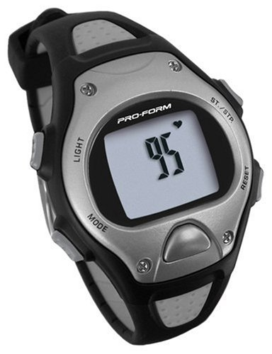 Proform Pro Trainer Strapless Heart Rate Monitor - Black/Silver