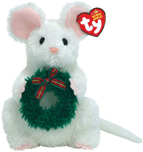 Garlands - White Mouse with Wreath