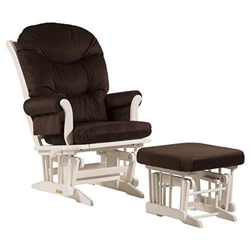 Dutailier ULTRAMOTION Sleigh Glider with Nursing Ottoman - 1