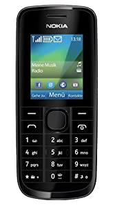 Nokia 113 Mobile Phone / Vodafone / Pay As You Go / PAYG / Pre-Pay - Black (Black)