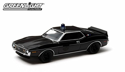 Greenlight Black Bandit Series 10 Diecast - 1971 AMC Javelin