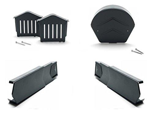 Homyl 1 Set Replacement 32V F2828-Z JCASE Box Shaped Fuse Kit 20A 25A 30A 40A 50A 60A