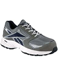 Men's Reebok Composite Toe Cross Trainers Gray / Blue