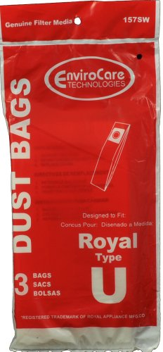 3 Pack Dirt Devil Type U Vacuum Cleaner Bags
